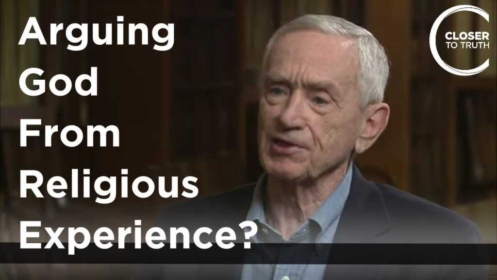 Robert Park - Arguing God from Religious Experience?